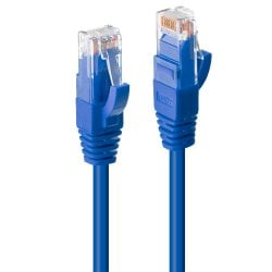 1m Cat.6 U/UTP LSZH Network Cable, Blue