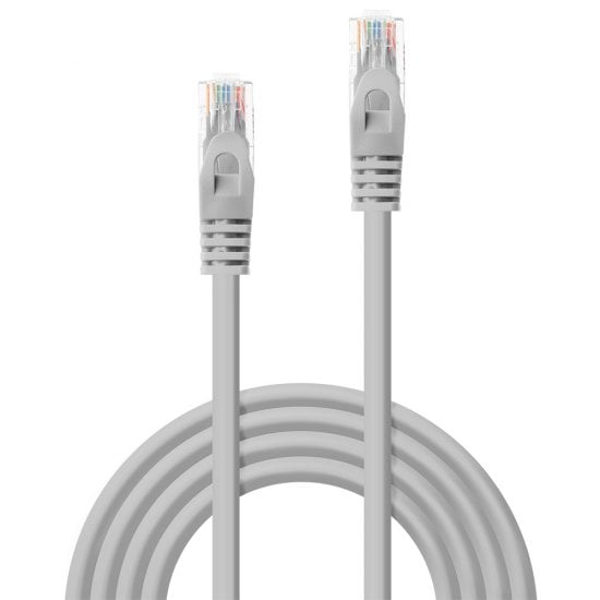 1m CAT5e U/UTP Snagless Network Cable, Grey