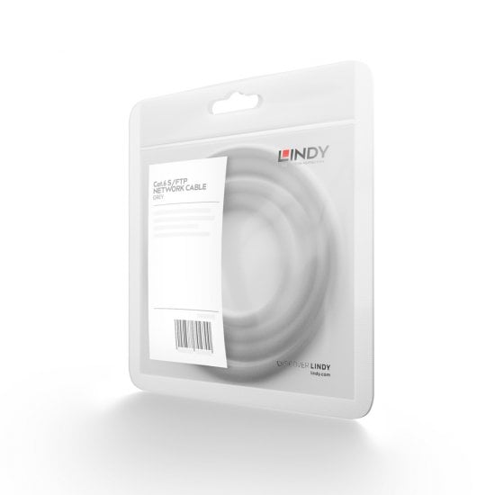 1m CROMO Cat.6 S/FTP Network Cable, Grey