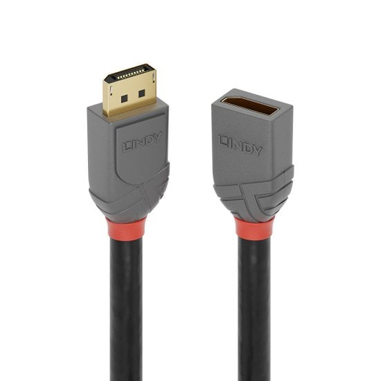 1m DisplayPort 1.4 Extension Cable, Anthra Line