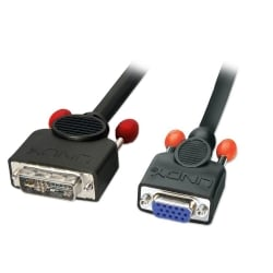 1m DVI-A (Analogue) Male to VGA Female Adapter Cable
