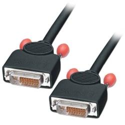 1m DVI-D Cable, Dual Link, Black