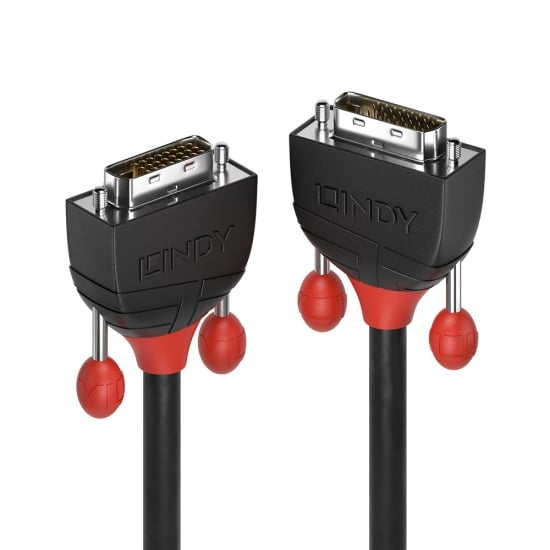 1m DVI-D Dual Link Cable, Black Line