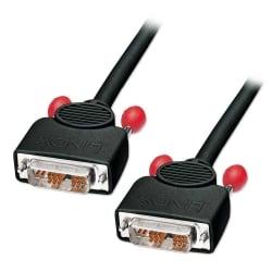 1m DVI-I Cable, Single Link, Black