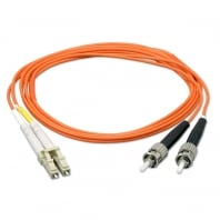 1m Fibre Optic Cable - LC to ST, 62.5/125µm OM1