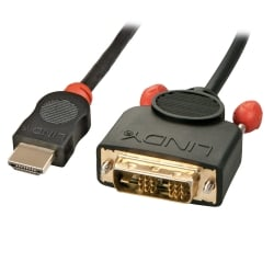 1m HDMI To DVI-D Cable, Black