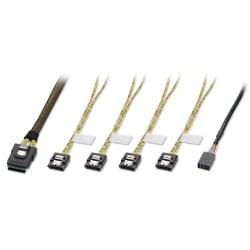 1m Mini SAS to 4 x SATA Cable