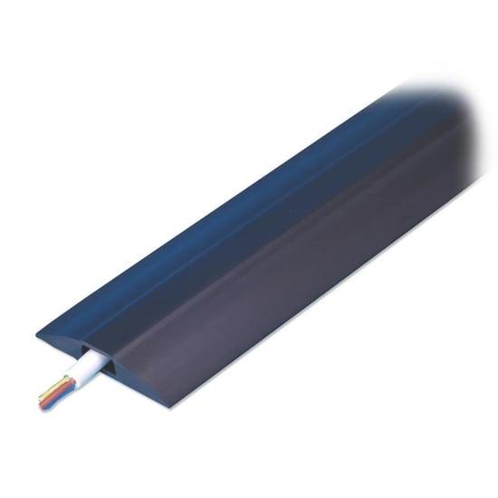 1m, Narrow Channel Cable Protector Bridge - Black