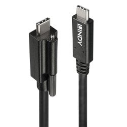 1m Single Screw USB 3.1 Type C to C Cable