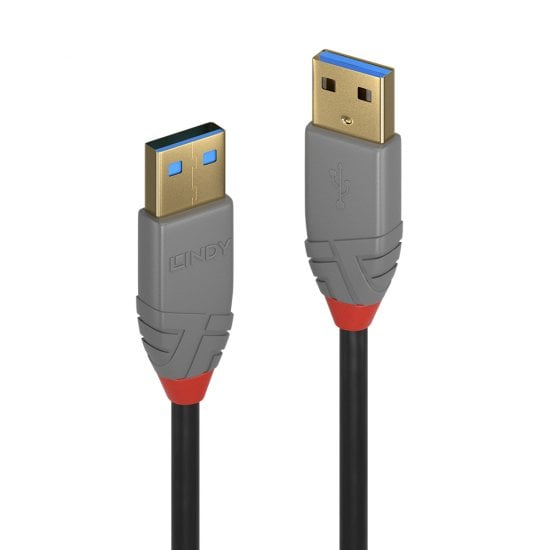 1m USB 3.0 Type A to A Cable, Anthra Line
