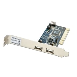 2+2 Port USB 2.0 Card, PCI (32 Bit)