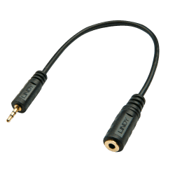 2.5mm Male to 3.5mm Female Audio Adapter
