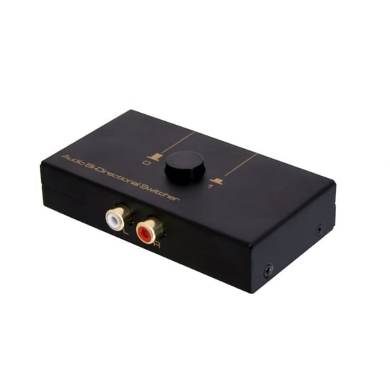 2 Port Bi-Directional Phono Switch