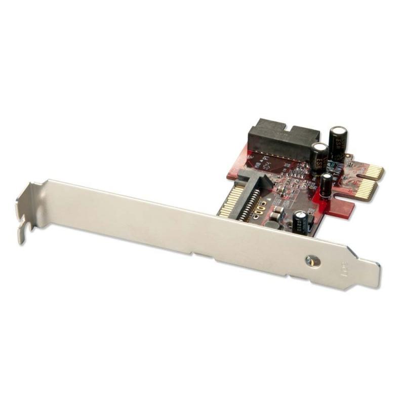 2 Port, Internal USB 3.0 Card, PCIe | LINDY UK