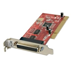 2 Port Low Profile Parallel Card, PCI