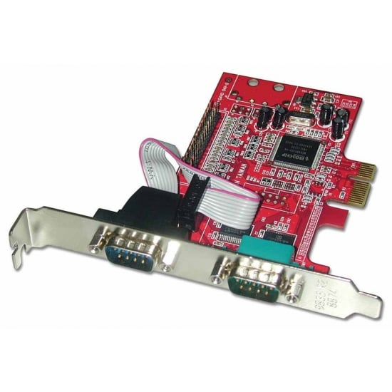 2 Port RS-232 Serial & 1 Port Parallel Card, PCIe