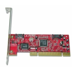 2 Port SATA-150 Controller, Low Profile Option, RAID Function, PCI