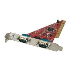 2 Port Serial RS-232 PCI Card