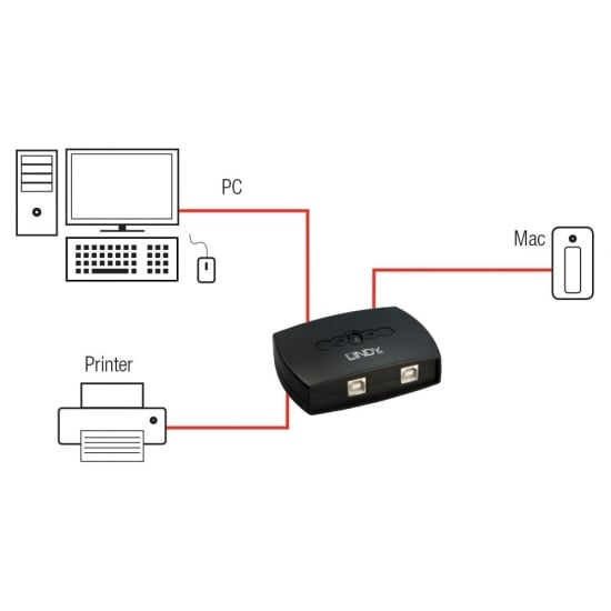 2 Port USB 2.0 AutoSwitch