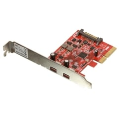 2 Port USB 3.1 Type C Card, PCIe - SATA power connector