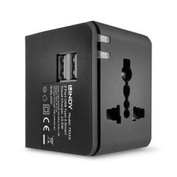 2 Port USB Type A Smart Travel Charger, 10.5W