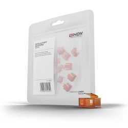 20 x RJ-45 Port Blockers (without key), Orange