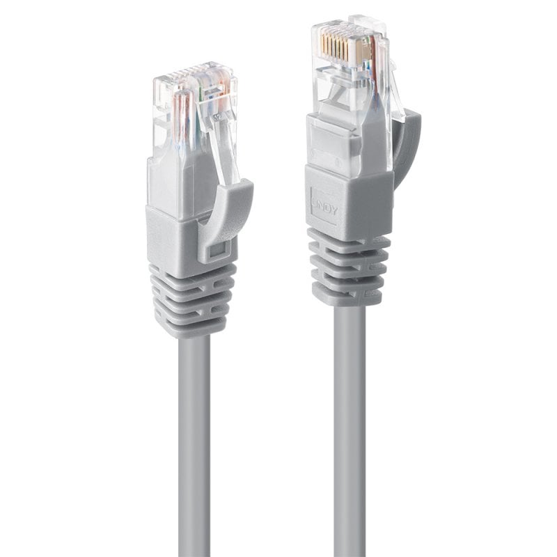 20m Cat.6 U/UTP Network Cable, Grey