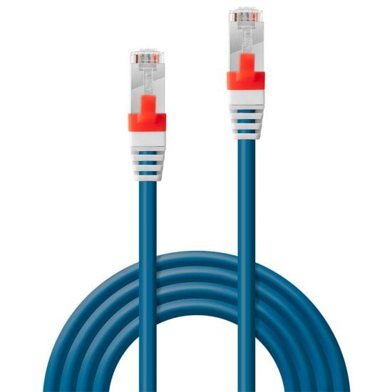 20m Cat.6A S/FTP LSZH Network Cable, Blue
