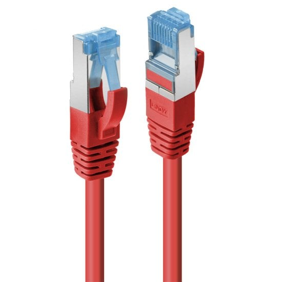 20m Cat.6A S/FTP LSZH Network Cable, Red