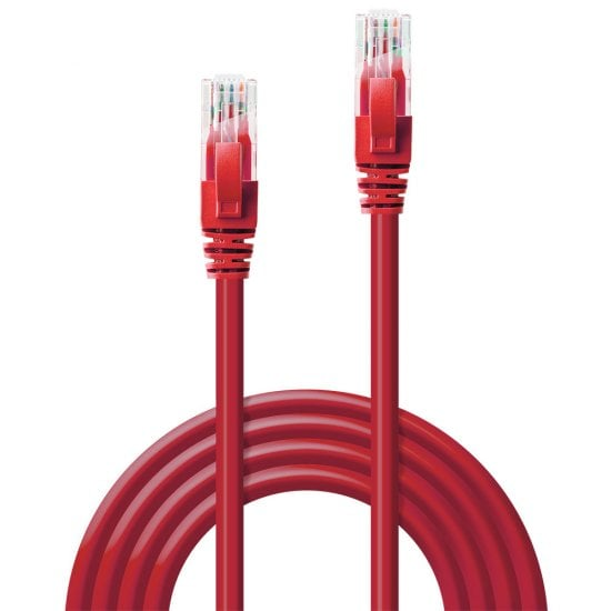 20m Cat.6 U/UTP Network Cable, Red
