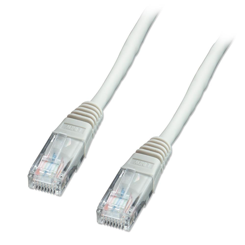 25m cat5e u utp solid core network cable grey from lindy uk. Black Bedroom Furniture Sets. Home Design Ideas