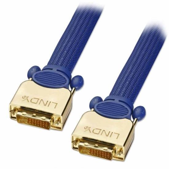 25m Gold DVI-D Dual Link, Super Long Distance Cable