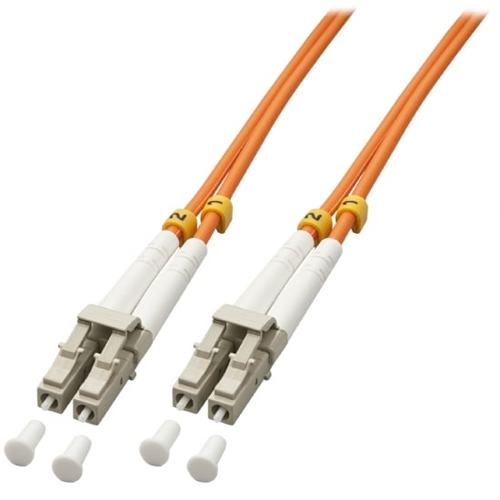 25m LC-LC OM2 50/125 Fibre Optic Patch Cable