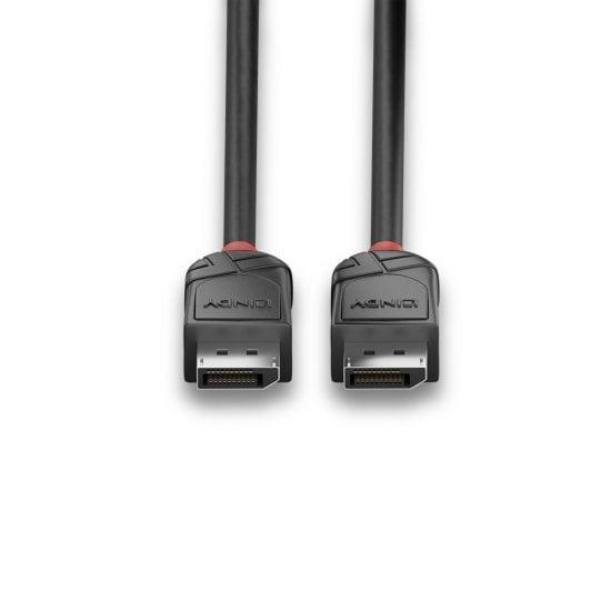 2m DisplayPort 1.2 Cable, Black Line