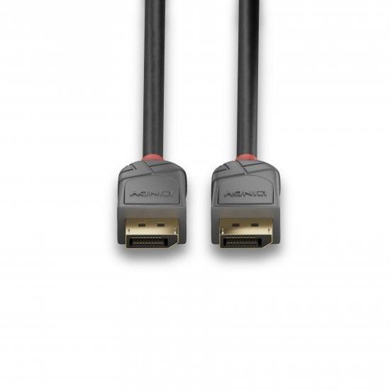 2m DisplayPort 1.4 Cable, Anthra Line