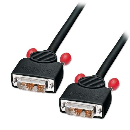 2m DVI-D Cable, Single Link, Black