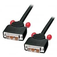 2m DVI-I Cable, Single Link, Black