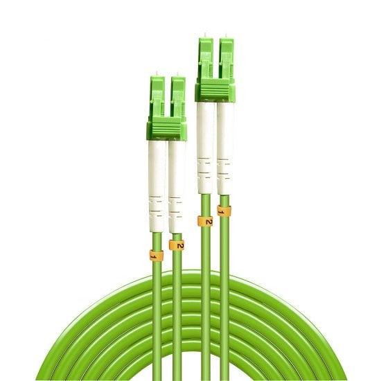 2m Fibre Optic Cable LC/LC, 50/125µm, OM5