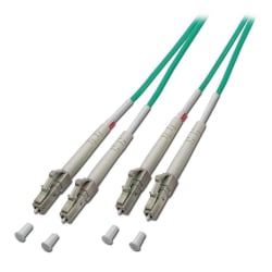 2m Fibre Optic Cable - LC to LC, 50/125µm OM4