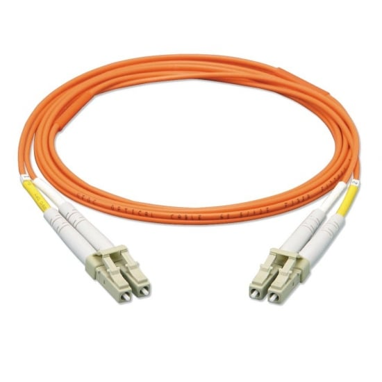 2m Fibre Optic Cable - LC to LC, 62.5/125µm OM1