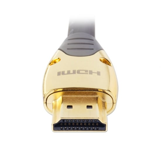2m Gold High Speed HDMI Cable with Ethernet