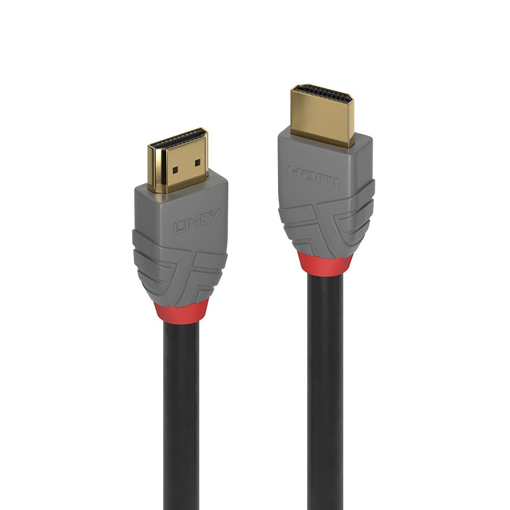 2m High Speed Hdmi Cable Anthra Line From Lindy Uk Dress Wires A V Installation Patch Panel To Switch On Rack