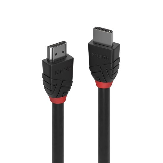 2m High Speed HDMI Cable, Black Line