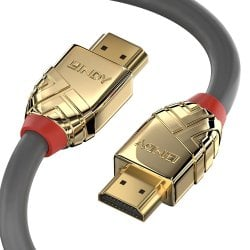 2m High Speed HDMI Cable, Gold Line