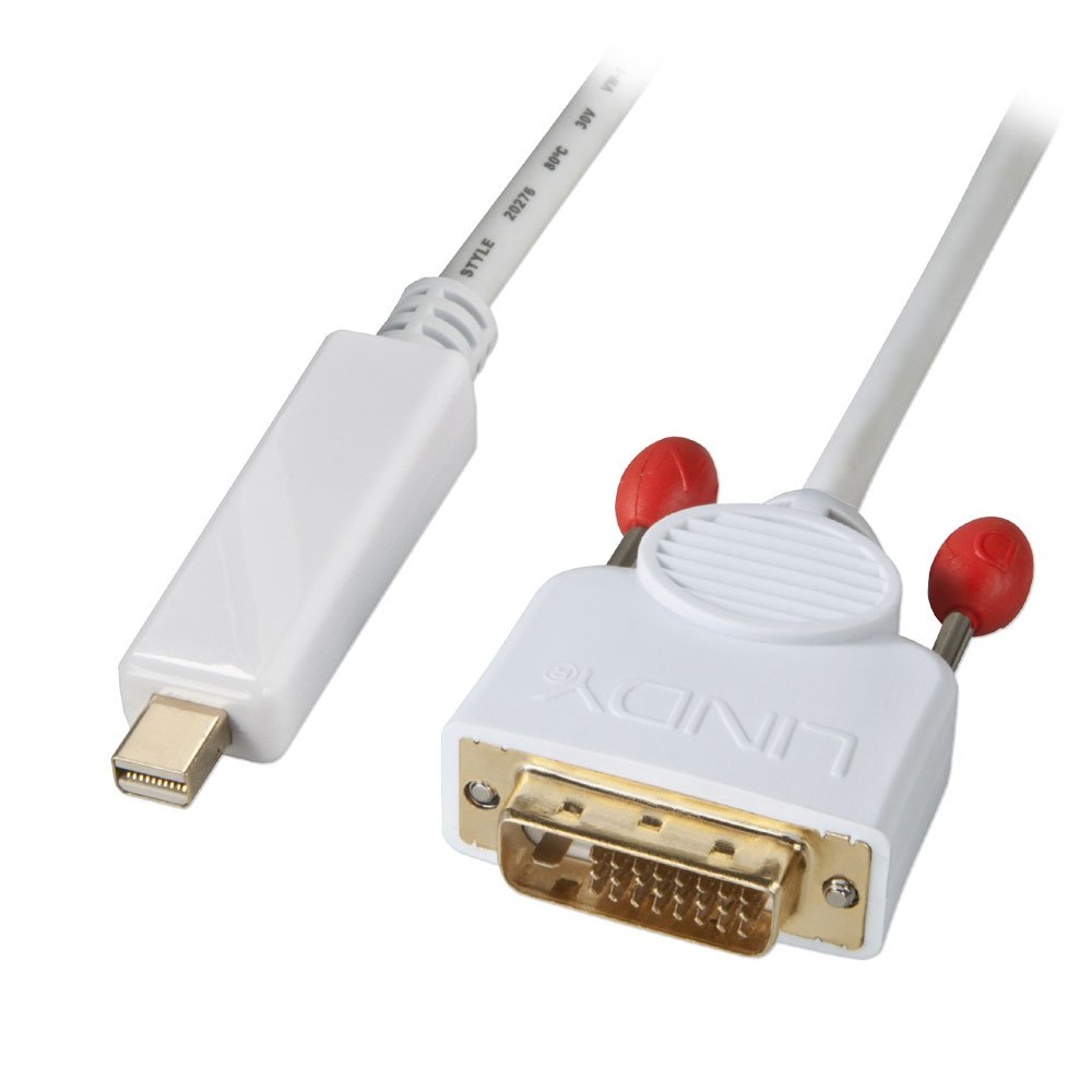 Audio  amp  Video     DVI     2m Mini DisplayPort to DVI-D Adapter CableDisplayport Cable Adapter