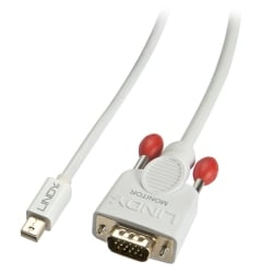 2m Mini DisplayPort To VGA Passive Cable, White