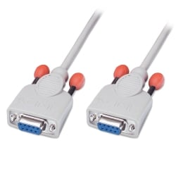 2m Serial Null Modem/Data Transfer Cable (9DF/9DF)
