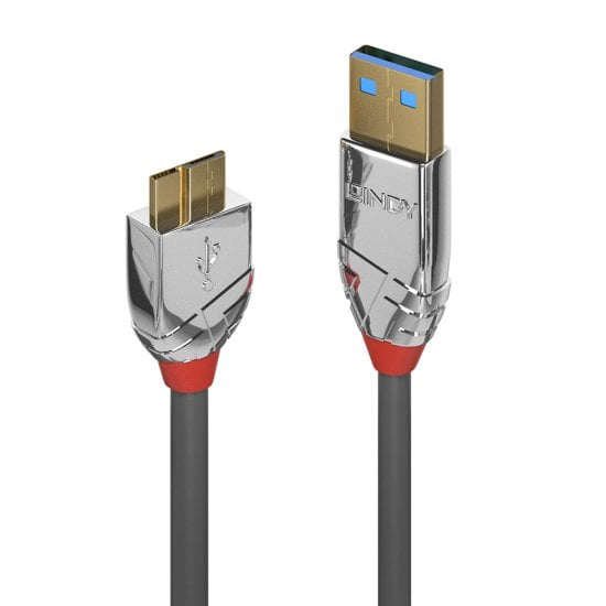 2m USB 3.0 Type A to Micro-B Cable, Cromo Line