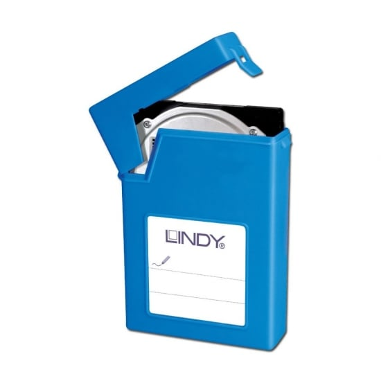 "3.5"" HDD Storage Case, Blue"