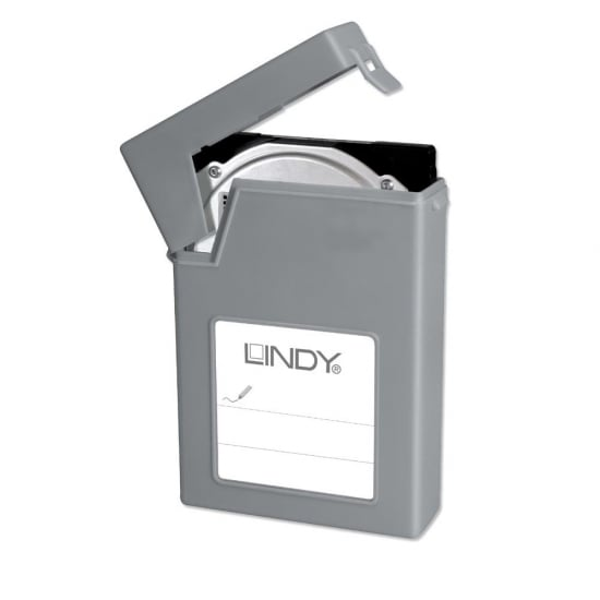 "3.5"" HDD Storage Case, Grey"